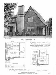 1930s Bungalow Floor Plans Chatsworth Kit House Sears Modern Homes