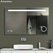 Anti Mist Bathroom Mirror Bathroom Mirror Anti Fog Bathroom Mirror Wall Mounted Led L
