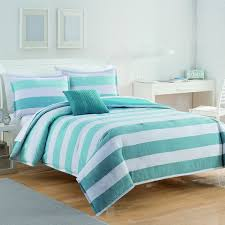 Blue Striped Comforter Set Izod Brandon Stripe Comforter Set Free Shipping Today