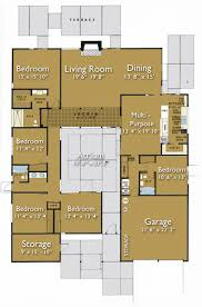 home plans with courtyard small house plans with interior courtyard home deco plans