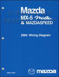 2004 mazda mx 5 miata mazdaspeed wiring diagram manual original