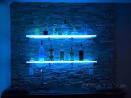 led lighted bar shelves valuable ideas led bar shelves impressive design led shelving for