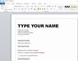 resume format microsoft word 2010 resume format free download in ms word 2010 unique resume resume