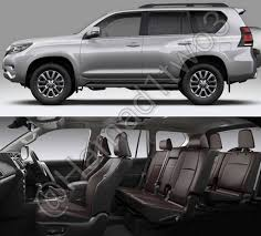 toyota land cruiser interior 2017 2018 toyota prado facelift expected in the middle east by year end