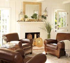 Changing It Up For Spring Design Chic For The HomeLiving - Leather chairs living room