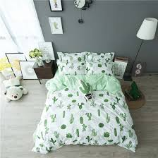 Make Duvet Cover From Sheets by Amazon Com Higogogo Home Textiles 100 Cotton Cactus Pattern