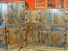 rustic kitchen furniture rustic kitchen cabinets cabin in the wood paneled kitchen27 best