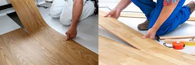 laminate flooring vs wood flooring floor creative laying vinyl flooring on how to install plank bob