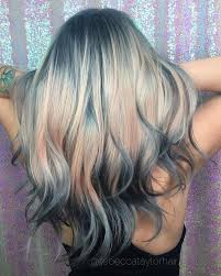 flesh color hair trend 2015 shine line hair trend dyes a brilliant optical illusion into