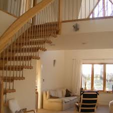 Rail Banister Classy Red Carpet Runner As Modern Staircase With Rail Banister As