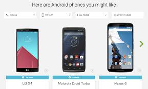 find an android phone terrific new website helps you find the android phone of