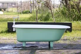 refinish cast iron bathtub 4 5 refinished arsenic green clawfoot bathtub 1941 richmond cast