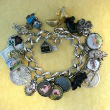 ebay jewelry silver charm bracelet images 179 best lucky pigs vintage charms bracelets images on jpg