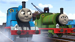 thomas tank engine finds voice abc