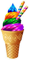 ice cream clipart rainbow clipart soft pencil and in color rainbow clipart soft