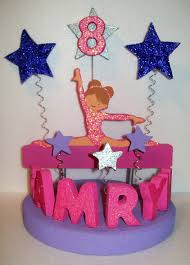 gymnastics cake toppers gymnastics 3d custom cake topper personalized by tishtoppers