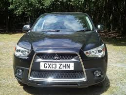 mitsubishi asx 2013 mitsubishi asx 2013 only 32 600 miles di d 4 leather switchable