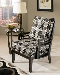 Grey And White Accent Chair Grey Patterned Accent Chair U2013 Best Furniture 2017 Inside Luxury