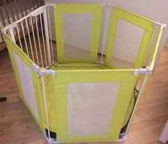 baby room divider mothercare playpen room divider white and green in fulham