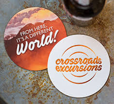 coasters order promotional drink coasters totallypromotional