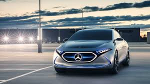 future mercedes mercedes benz concept eqa is the future of electric sensual purity