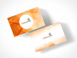 Business Card Stack Stack Psd Mockups