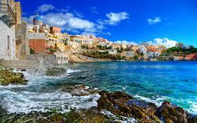 coastal town in montenegro hd desktop wallpaper hd desktop wallpaper