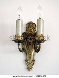 Antique Brass Wall Sconce Sconce Stock Images Royalty Free Images U0026 Vectors Shutterstock