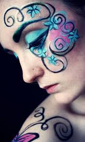 70 best fantasy face paint images on pinterest face paintings