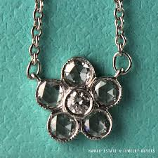 flower tiffany necklace images Shop hawaii estate jewelry buyers jpg