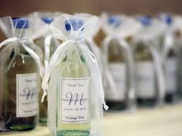 wine wedding favors 7 wine wedding favors we