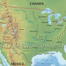 colorado physical map blank physical map of united states map of america south