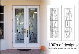 Etched Glass Exterior Doors Modern Concept Frosted Glass Front Door With Etched Glass Front