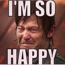 Ugly Cry Meme - even when daryl dixon makes the ugly cry face he s hyperattractive