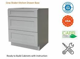 kitchen base cabinets ebay gray shaker kitchen drawer base cabinet