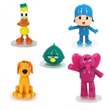 pocoyo cake toppers pocoyo and friends model cake topper