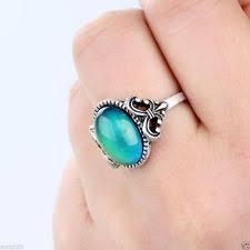 v shaped gold ring moho silver sterling silver mood ring ebay