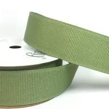 moss ribbon 22mm grosgrain ribbon moss