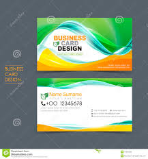 professional vector business card set stock vector image 41961236