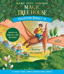 magic tree house collection books 1 8 mary pope osborne