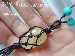 diy bracelet stones images Diy macrame stone necklace tutorial from essas frescurites this jpg