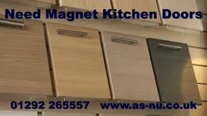 cabinet door magnets trash cans walnut kitchen wooden trash can