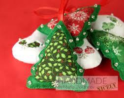 snowman felt ornaments u2013 christmas tree decorations