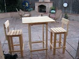 Plans For Outdoor Furniture by How To Build A Pub Table U2013 Thelt Co