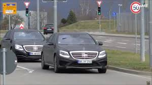 2018 mercedes benz s class facelift thinks camouflage is for