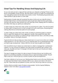 monster writing paper great tips for handling stress and enjoying life by anastasia great tips for handling stress and enjoying life by anastasia morgan issuu