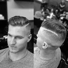 guys hair 40 hard part haircuts for men sharp straight line style