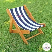 kidkraft outdoor navy stripe sling chair by kidkraft kid chairs