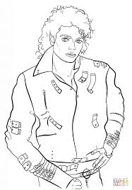 michael jackson coloring sheets coloring home