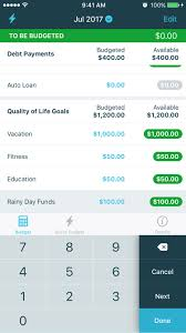 ynab personal budgeting software for windows mac ios and android